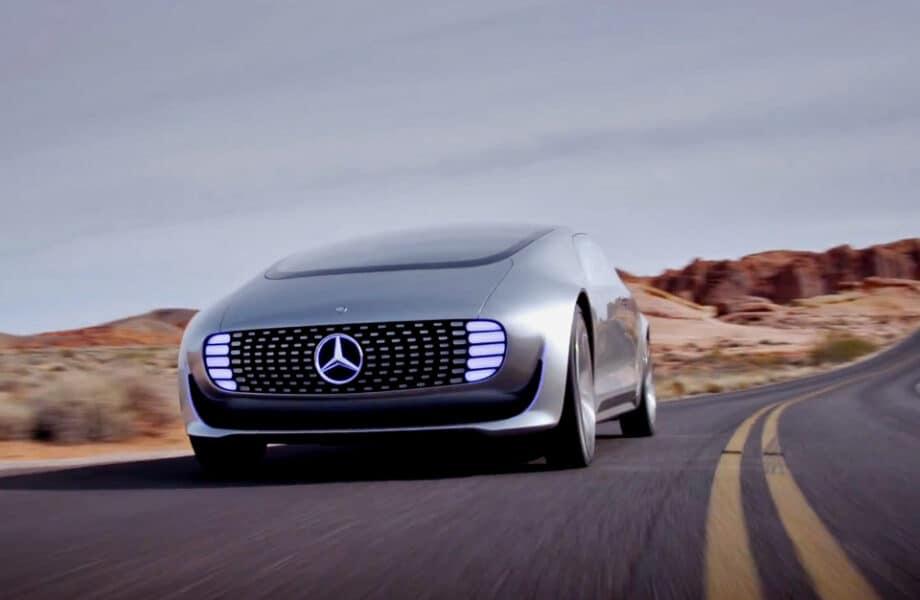 Mercedes selvkørende bil. Mercedes-Benz F015 selvkørende bil