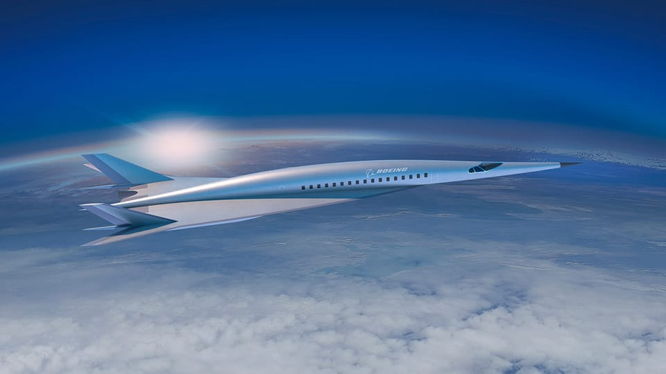 Boeing: Verden er for lille til at flyve hurtigere end Mach 5