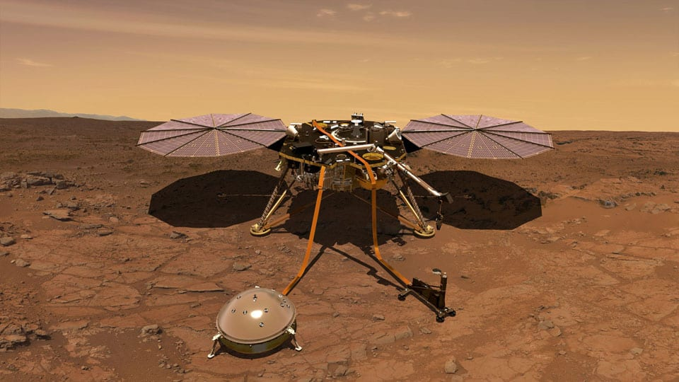 Insight mission til Mars - teknologikritik.dk