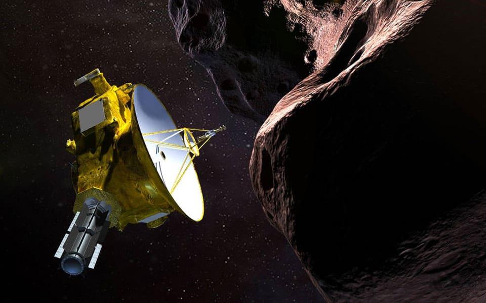New Horizons når solsystemets grænse