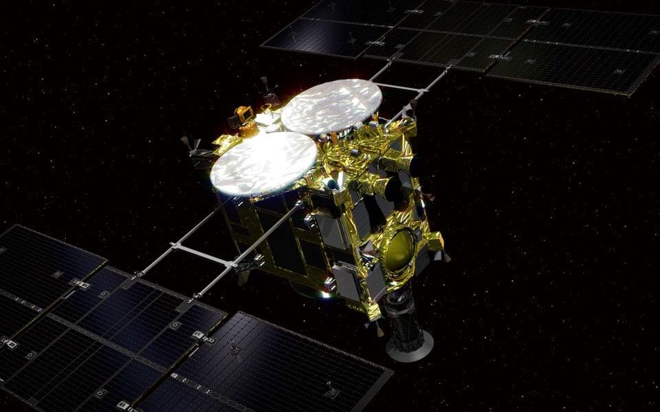 Hayabusa 2 sonden - teknologikritik.dk