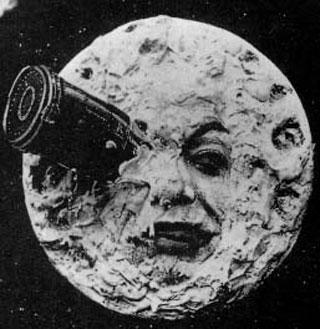 Apollo programmet - George Melies Rejsen til Månen. teknologikritik.dk