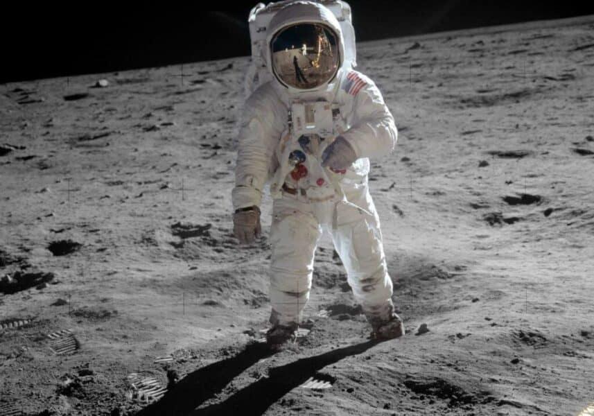 Apollo 11 - Buzz Aldrin på Månen - teknologikritik.dk