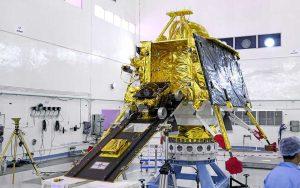 Chandrayaan-2  Pragyan rover og Vikram lander. Teknologikritik.dk