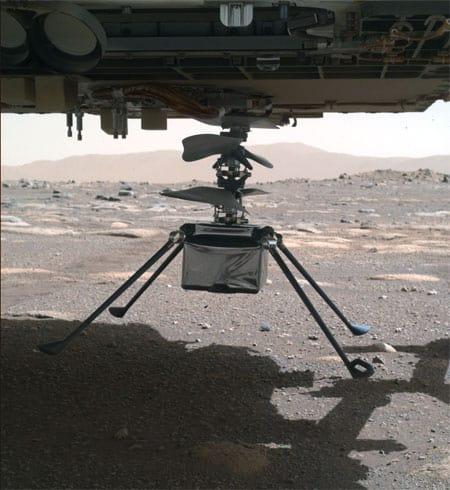 Mars helikopteren Ingenuity - teknologikritik.dk